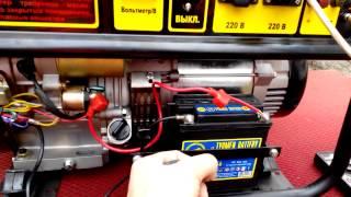 Генератор бензиновый Huter DY6500LX с электростартером с пультом