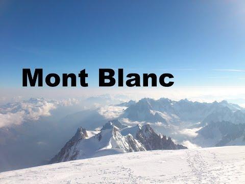Mont Blanc 4810m Besteigung Juni 2014 , höchster Berg der Alpen, Abenteuer Berge Remo Iller