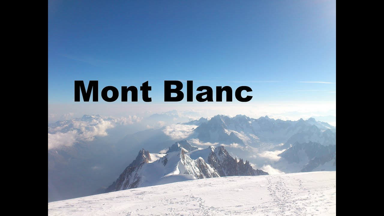 mont blanc 4810m besteigung juni 2014 h chster berg der. Black Bedroom Furniture Sets. Home Design Ideas