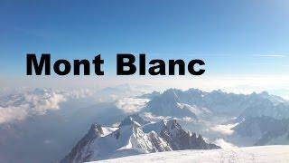 Mont Blanc 4810m Besteigung Juni 2014