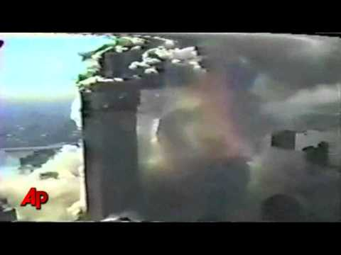 Raw Video: NYC Police Helicopter View on 9/11
