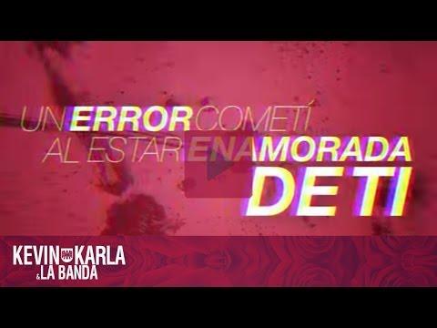Perder Mi Amor - Kevin Karla & La Banda (Lyric Video)