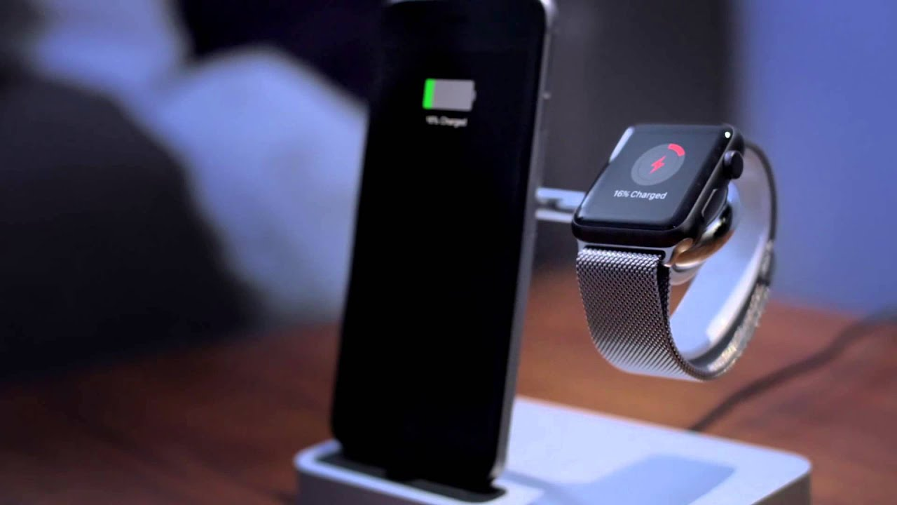 Valet Charge Dock for Apple Watch  iPhone  YouTube