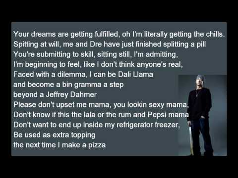 Eminem - Must Be The Ganja lyrics [HD]