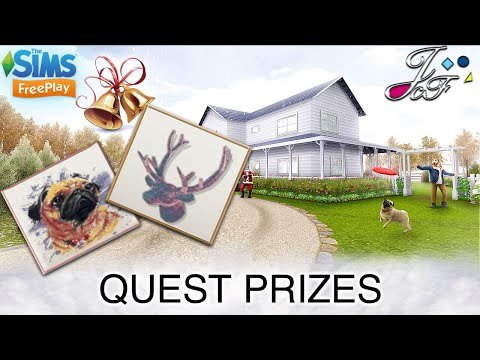 The Sims FreePlay -[ EARLY ACCESS ]- QUEST PRIZES - 🎁🎄❄️ - 동영상
