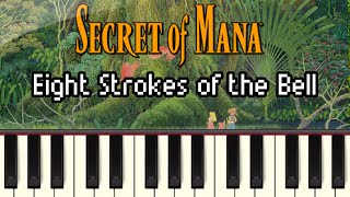 Eight Strokes of the Bell - Secret of Mana [Synthesia]