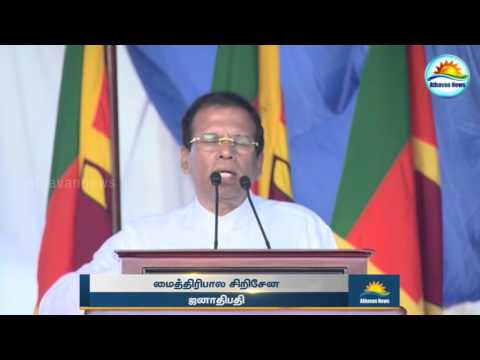 Sinhalese people live peacefully, minority problems must be solved!