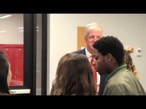 Sen. Jerry Moran visit