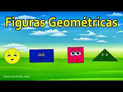 La Canción de las Figuras Geométricas - Ronda Infantil - Videos para niños - Lunacreciente