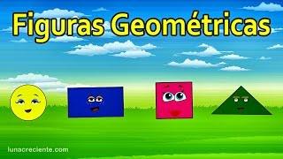La Canción de las Figuras Geométricas - Ronda Infantil - Videos para niños