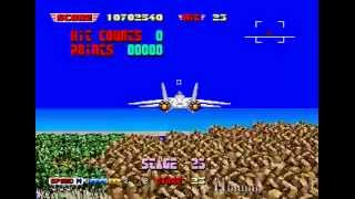 After Burner II Longplay (Arcade) [60 FPS]