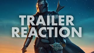 The Mandalorian Season 2 Trailer Reaction - THIS is the way!