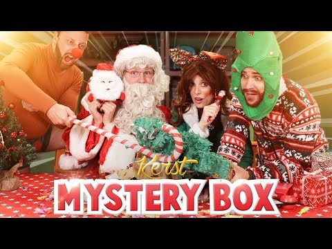 KERST MYSTERY BOX UITPAKKEN!