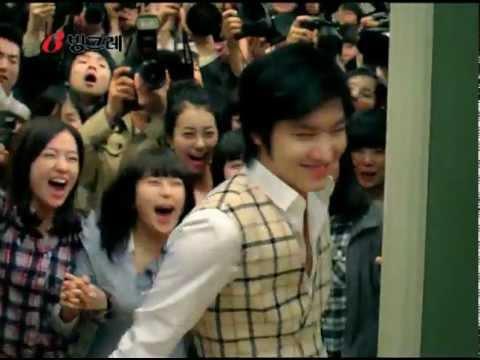 weird korean commercial about milk videos