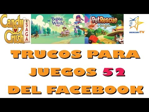 Trucos para 52 Juegos del Facebook Candy Pet Bubble y Mas Trainers
