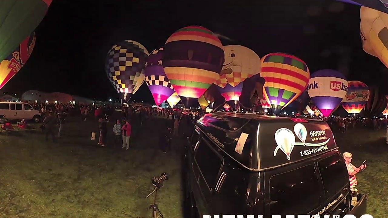 Balloon Glow, in TRUE 360º
