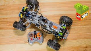 lego-самоделки #8. Лего машина на радиоуправлении. Power Functions