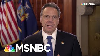 Cuomo: Coronavirus Crisis 'Truly Frightening,' 'Didn't Have To Be' | Rachel Maddow | MSNBC