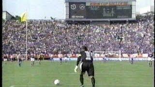 日本vsパラグアイ キリンカップサッカー'98① 国立競技場