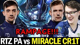 ARTEEZY vs CR1T MIRACLE — Rampage PA vs Incredible Powershot