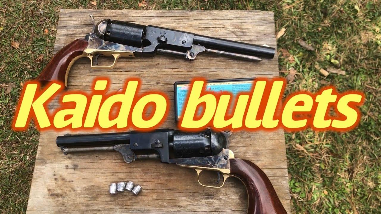 Kaido universal percussion revolver bullets, 220 240 and 255 grain bullets part 1