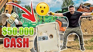 We Broke Open The Abandoned Safe and Found This.. ($50,000 CASH!?!)