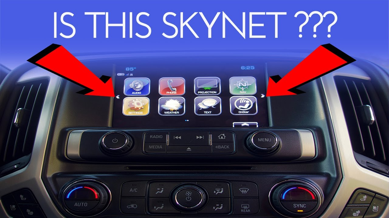 Gm Intellilink Infotainment System Youtube