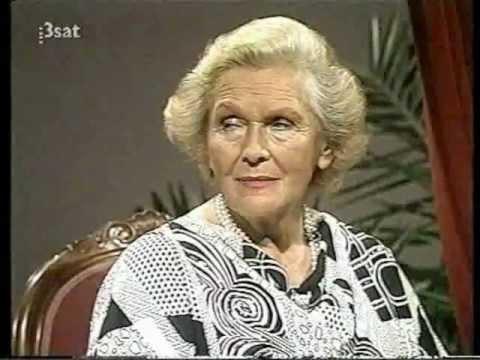 Elisabeth Schwarzkopf  Da Capo   with August Everding 1988