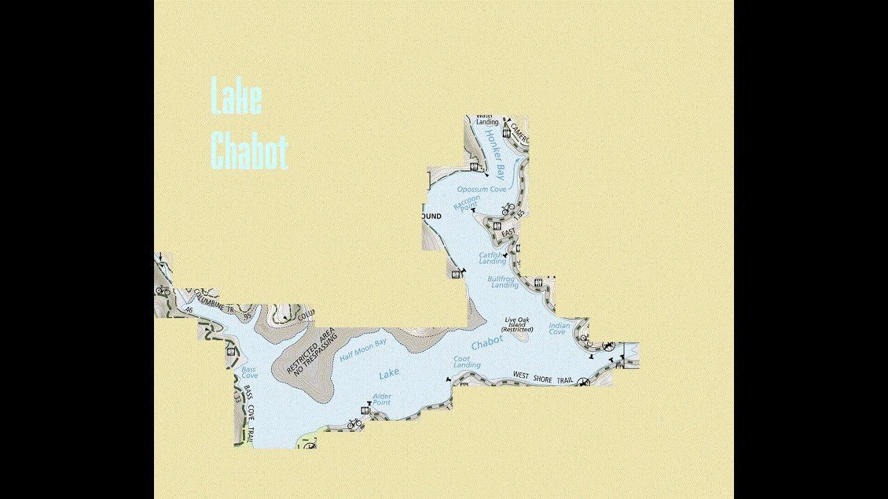 Lake Chabot Trout Fishing - Top 5 Bank Fishing Spots