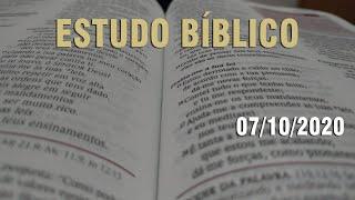 Estudo Bíblico (Carta aos Romanos - Capítulo 13) - 07/10/2020