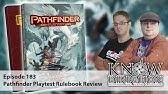 Pathfinder Playtest Character Creation! (Paizo Friday #8