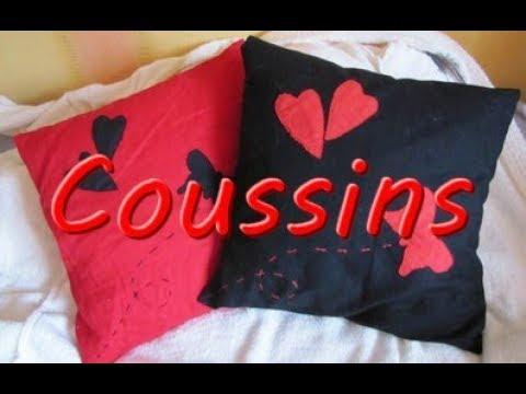 Fabriquer une housse de coussin youtube - Faire une housse de coussin dehoussable ...