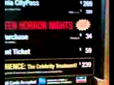 universal studios halloween horror nights ticket prices ridiculous - Halloween Universal Studios Tickets