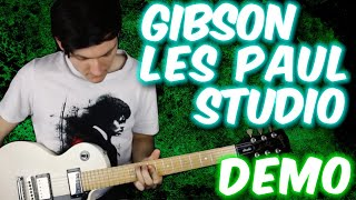 Gibson Les Paul Studio demo