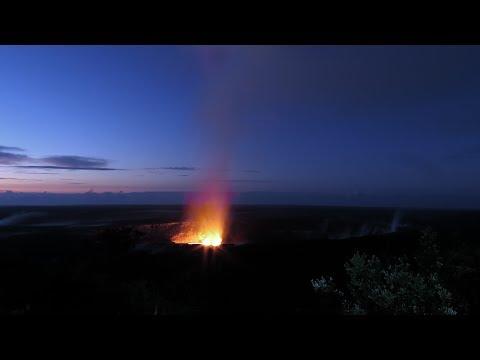 Volcano House and Kilauea April 2018