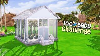 The Sims 4: 100 Baby Challenge -(Part 66) GREEN HOUSE!!!