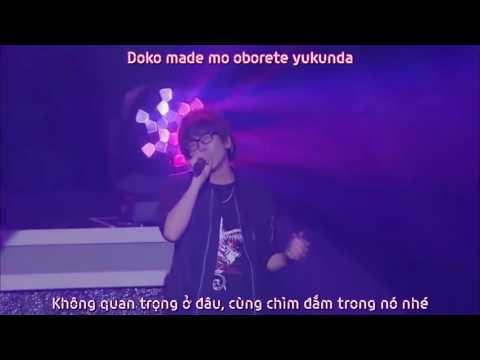 [Vietsub[TsukiPro Live 2016]]: DARK MOON ANGEL - Sera Rikka ft. Takamura Shiki