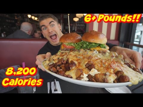 BigMac-Daddy Burger Challenge in Ottawa ON - Man Vs Food - UNDEFEATED