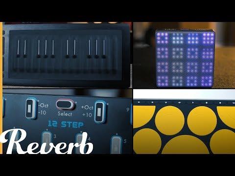 4 New School MIDI Controllers from ROLI, Sensel, & Keith McMillen  Reverb Demo