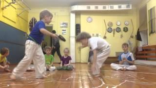 Детская тренировка  Капоэйра Красноярск