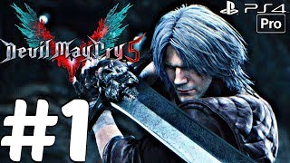 DEVIL MAY CRY 5 - Gameplay Walkthrough Part 1 - Full Demo (PS4 PRO) 1080p 60fps