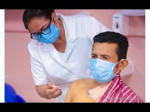 Vacunación voluntaria contra el covid-19 continúa este próximo lunes