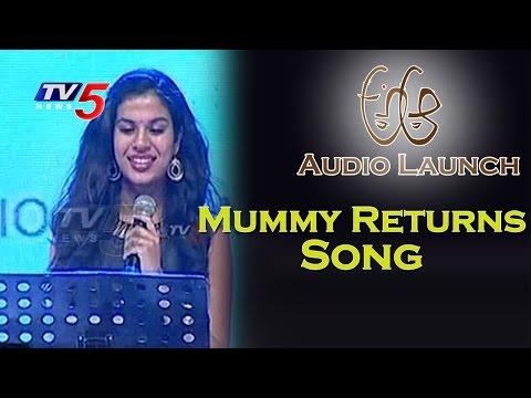 Singer Sravana Bhargavi Sings MUMMY RETURNS Song | Nithin | Samantha | Trivikram | TV5 News