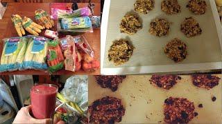 Fruit And Veggie Haul + Pumpkin Oat Cookies