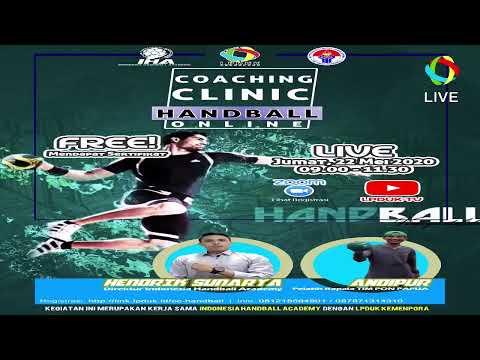 Coaching Clinic Handball Secara Online