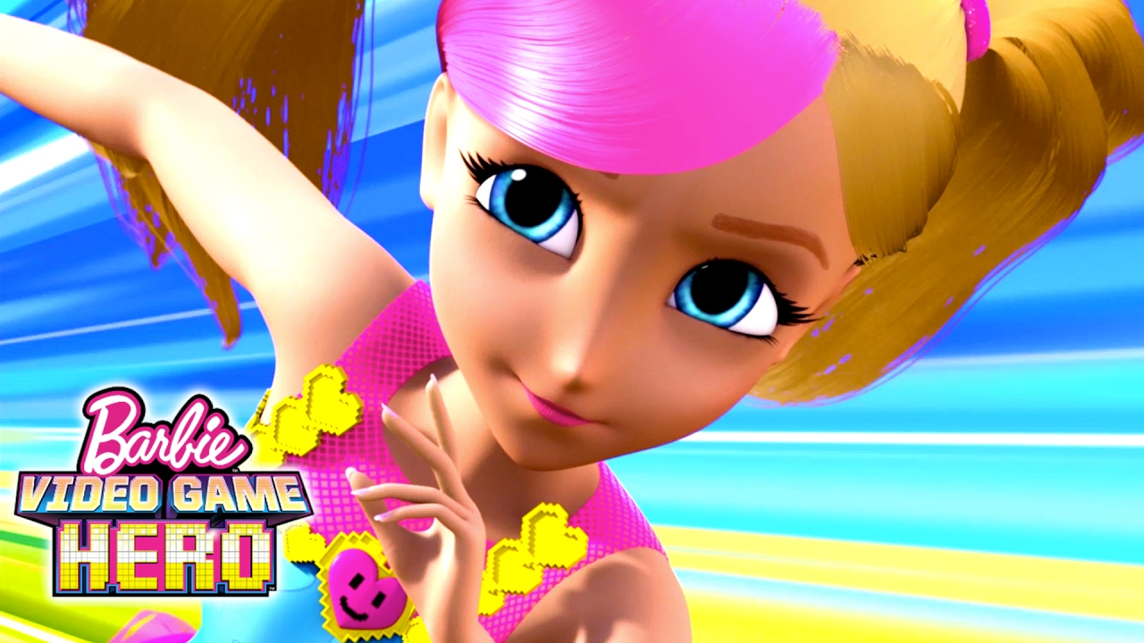 Barbie Video Game Hero Movie Exclusive 11 Minute Premiere