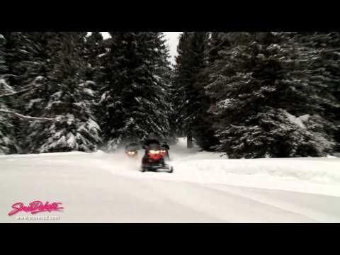 South Dakota: Black Hills Snowmobiling