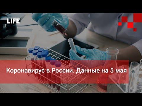 Коронавирус в России. Данные на 5 мая