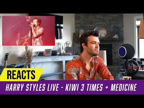 Producer Reacts to Harry Styles LIVE - KIWI Three Times + Medicine