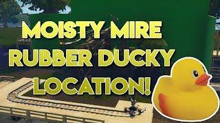 Fortnite Moisty Mire Rubber Ducky Location!!